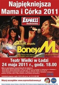 Na finale naszego konkursu wystąpi Boney M.