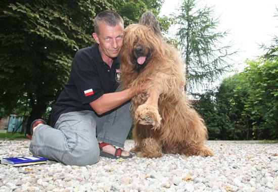 Choć pokiereszowana łapa goi się szybko, pies nie wróci już do służby.