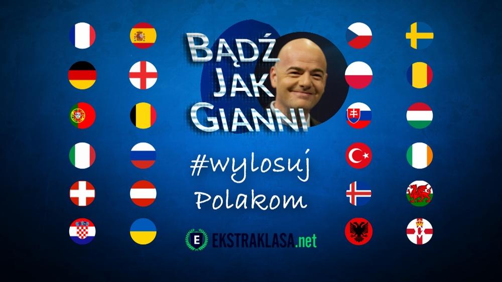 Wylosuj Polakom rywali na Euro 2016!