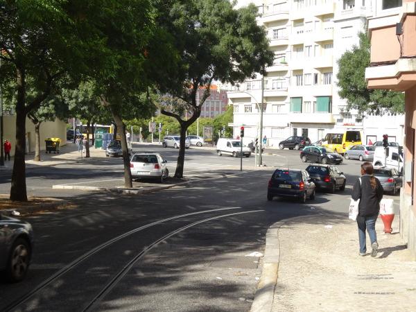 Droga do Lizbony, parkowanie w stolicy
