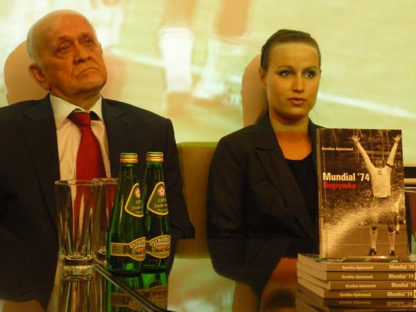 Andrzej Strejlau i Karolina Apiecionek