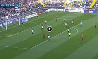 Zagranie weekendu | Efektowne przyjęcie Florenziego przyniosło gola Romie  [WIDEO]