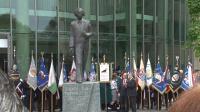 Pomnik I.J.Paderewskiego odsłonięty