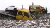 Czołowe zderzenie dwóch aut we Florentynie