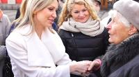 Magdalena Ogórek odwiedziła Kalisz