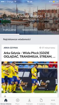 Dziennik Bałtycki na iPhone'a