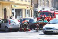 Poznań. Wypadek na ul. Grunwaldzkiej
