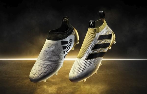 autoryzowana strona buty na tanie sprzedaż Nowa kolekcja od adidas Football: biało-złote korki ze ...