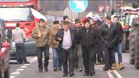 Rolnicy zablokowali Kalisz i krajową 12