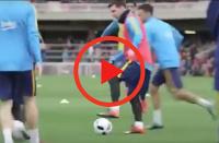 """Leo """"siatkarz"""" Messi poluje dalej! Mascherano kolejną ofiarą [WIDEO]"""