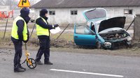 Wypadek w Jastrzębnikach pod Kaliszem