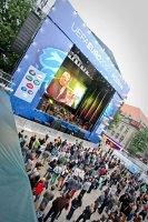 Hip hop w Strefie Kibica w Poznaniu