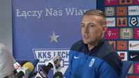Maciej Gostomski przed meczem Lech-Ruch Chorzów