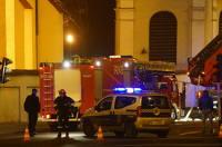 Kalisz. Alarm pożarowy w kościele jezuitów