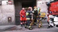 Pożar w Kaliszu przy ulicy Pułaskiego
