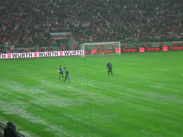 Murawa Stadionu Narodowego podczas meczu Polska - Anglia (2012 r.)