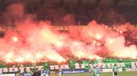 Lech - Legia. Oprawa meczu