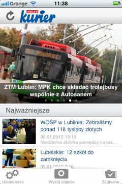 Kurier Lubelski na iPhone'a